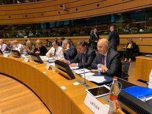 Παρέμβαση Αναπληρωτή Υπουργού Εξωτερικών, Μιλτιάδη Βαρβιτσιώτη, στο Συμβούλιο Γενικών Υποθέσεων